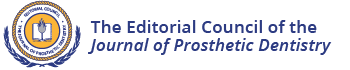 The Editorial Council of the Journal of Prosthetic Dentistry
